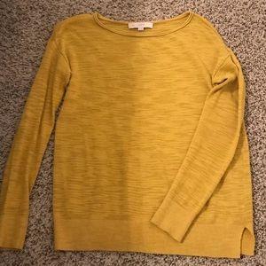 ❤️Loft Mustard Yellow Top